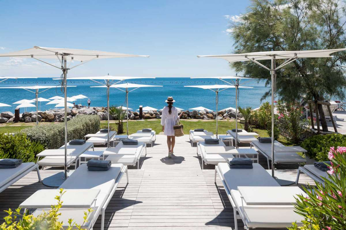 Portopiccolo Falisia Resort & Spa Beach Club Sunbeds