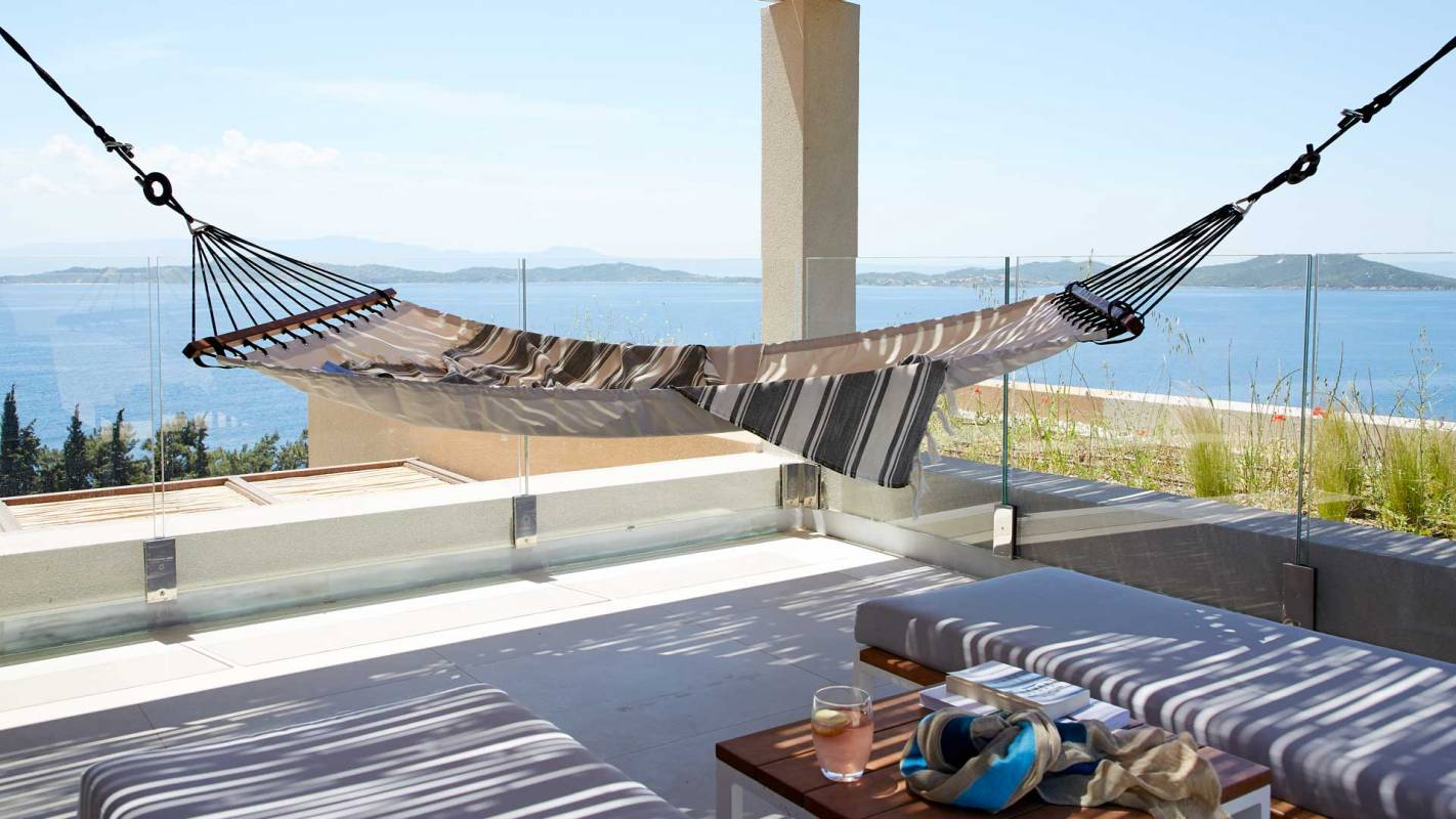 Eagles Villas Halkidiki Pool Villa Terrace