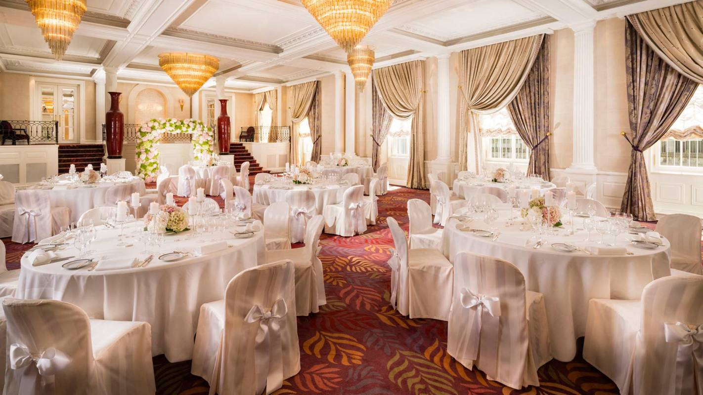 Baur au Lac Zurich Wedding Room