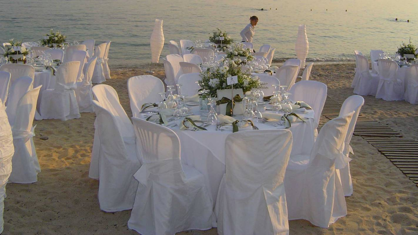 Eagles Palace Calkidiki Wedding Beach