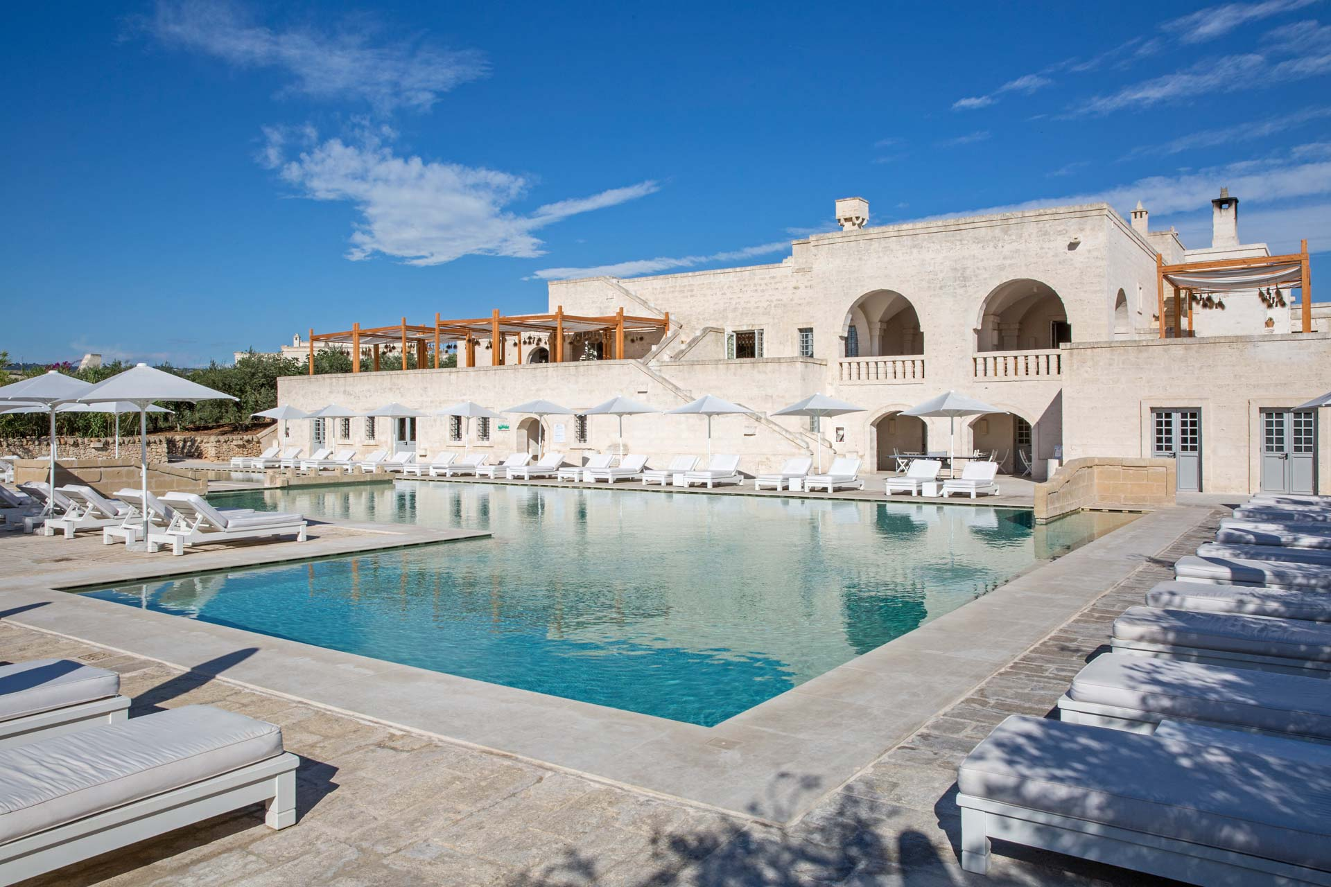 It's Borgo Egnazia – it's nowhere else